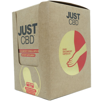 Dietary Supplement 12 count box: Ease Discomfort 25mg CBD