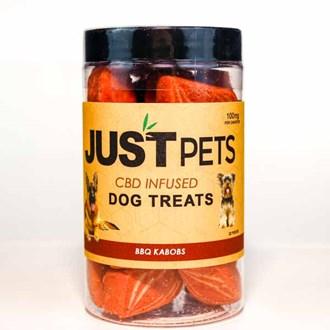 Pet Dog Treats: BBQ Kabobs 100mg