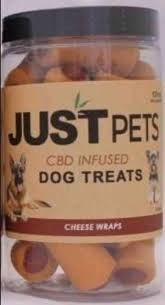 Pet Dog Treats: Cheese Wraps 100mg