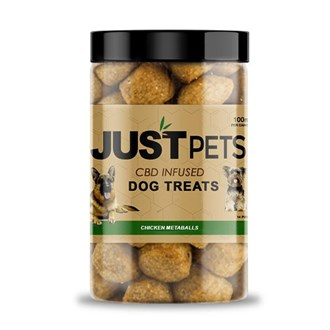 Pet Dog Treats: Chicken Meatballs 100mg