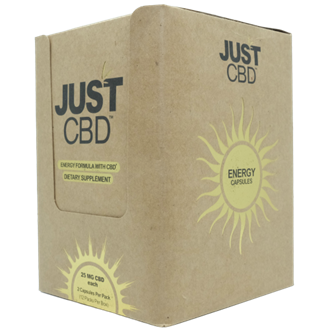 Dietary Supplement 12 count box: Energy 25mg CBD