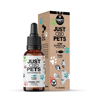 Pet Tinctures: Tuna 100mg